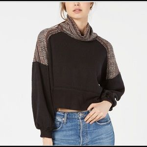NWT Free People at the lodge Turtleneck Top